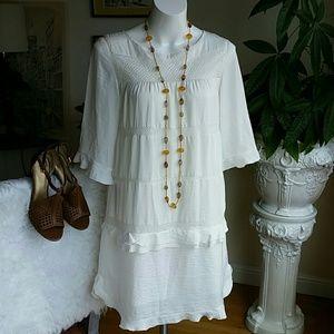 Who What Where white dress size Medium